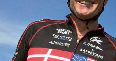 Ny bog om at cykle tværs over USA trods kræft og diabetes